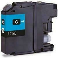 Brother LC12E Cyan Generic Ink 1200 Page Yield