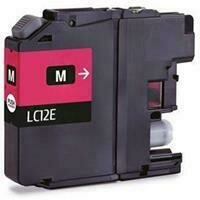Brother LC12E Magenta Generic Ink 1200 Page Yield