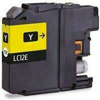 Brother LC12E Yellow Generic Ink 1200 Page Yield