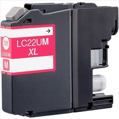 Brother LC22UXL Magenta Generic Ink 1200 Page Yield