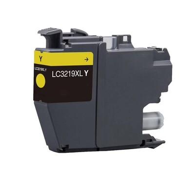 Brother LC3219XLY  Yellow Generic Ink 1500 Page Yield