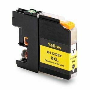 Brother LC22EXLY  Yellow Generic Ink 15ml  Page Yield