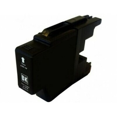 Brother LC1280XLBK (Not for LC1240BK) Black Generic Ink 60ml 2400 Pages