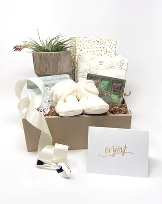 NATURALLY NURTURING GIFT BOX - Part of our Silver Spoon Collection