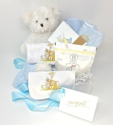 ULTIMATE BABY BOY GIFT BOX -Part of our Silver Spoon Collection