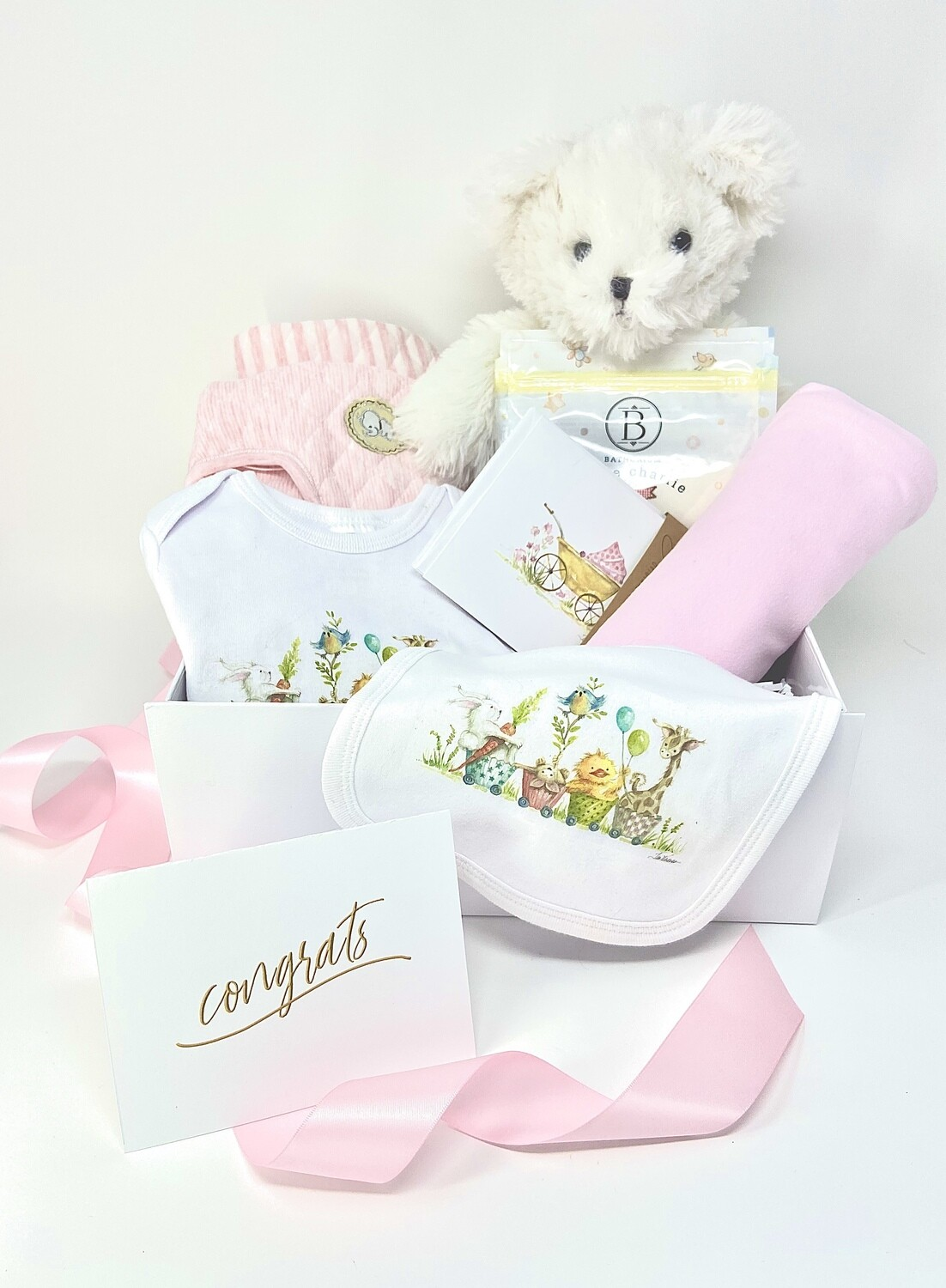 ULTIMATE BABY GIRL BOX- Part of our Silver Spoon Collection*