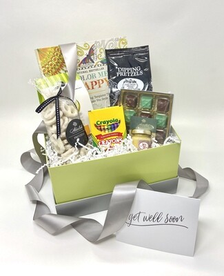 STRESS RELIEVER / GET WELL GIFT BOX
