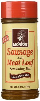 Morton Sausage and Meat Loaf Seasoning Mix