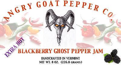 Angry Goat Blackberry Ghost Pepper Jam (EXTRA HOT!!)