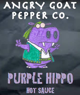 Angry Goat Purple Hippo Hot Sauce (8+/10)