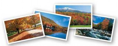 Autumn In Vermont Note Cards