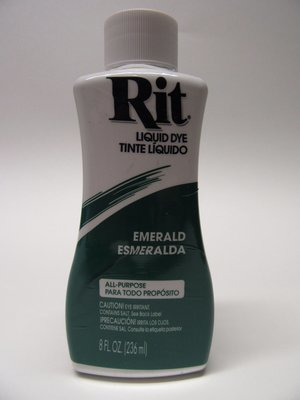 Rit Dye # Emerald color