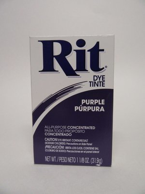 Clothes Dye -  Purple Powder