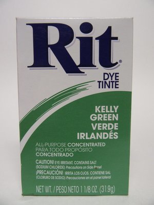Clothes Dye -  Kelly Green  color