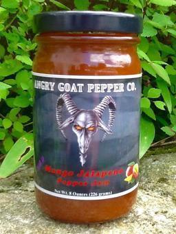 Angry Goat Mango Pepper Jam (Mild)