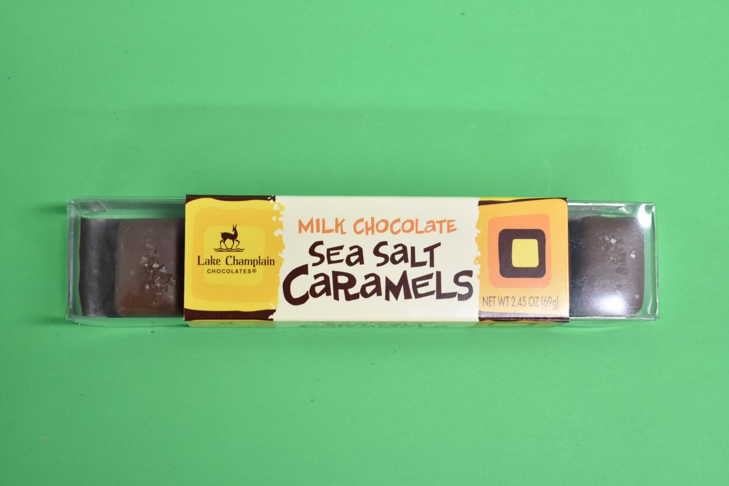 Sea Salt Caramels  Milk Chocolate