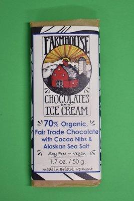 Fair Trade Chocolate with Coco Nibs & Alaskan sea Salt
