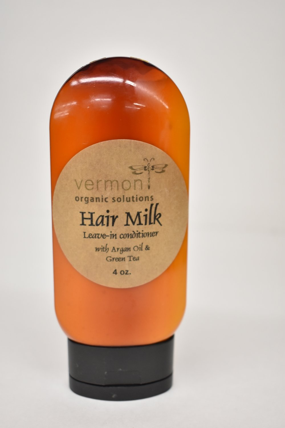 Vermont Organic Hair Milk with organ oil and green tea