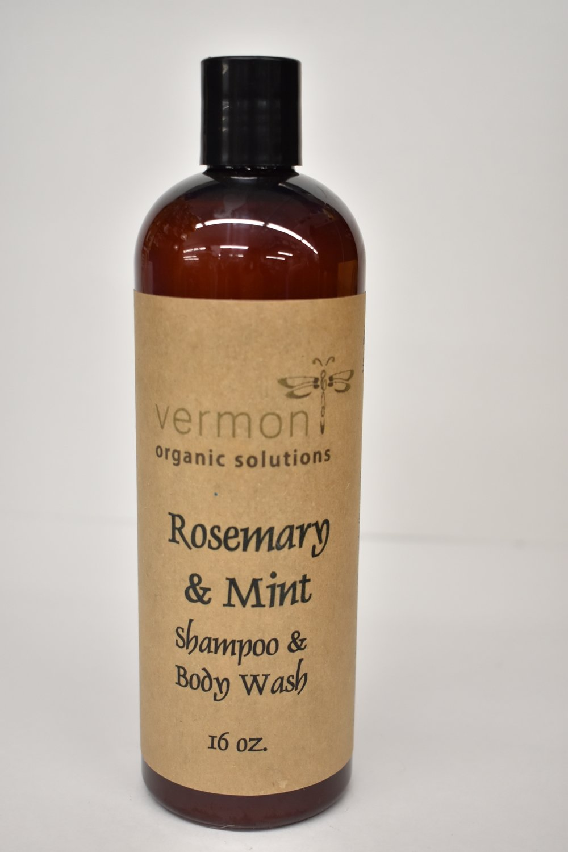 Vermont Organic Rosemary & Mint Shampoo & Body Wash
