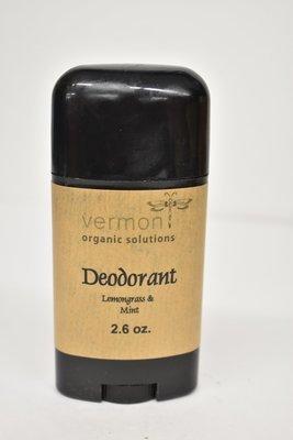 Vermont Organic Deodorant Lemongrass and Mint 2.6oz