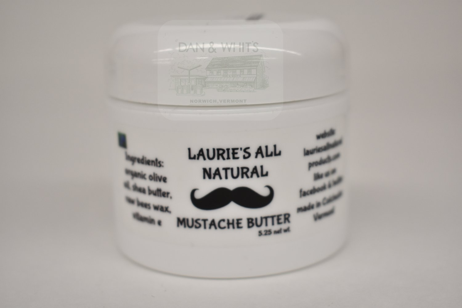 Laurie's All Natural Mustache Butter