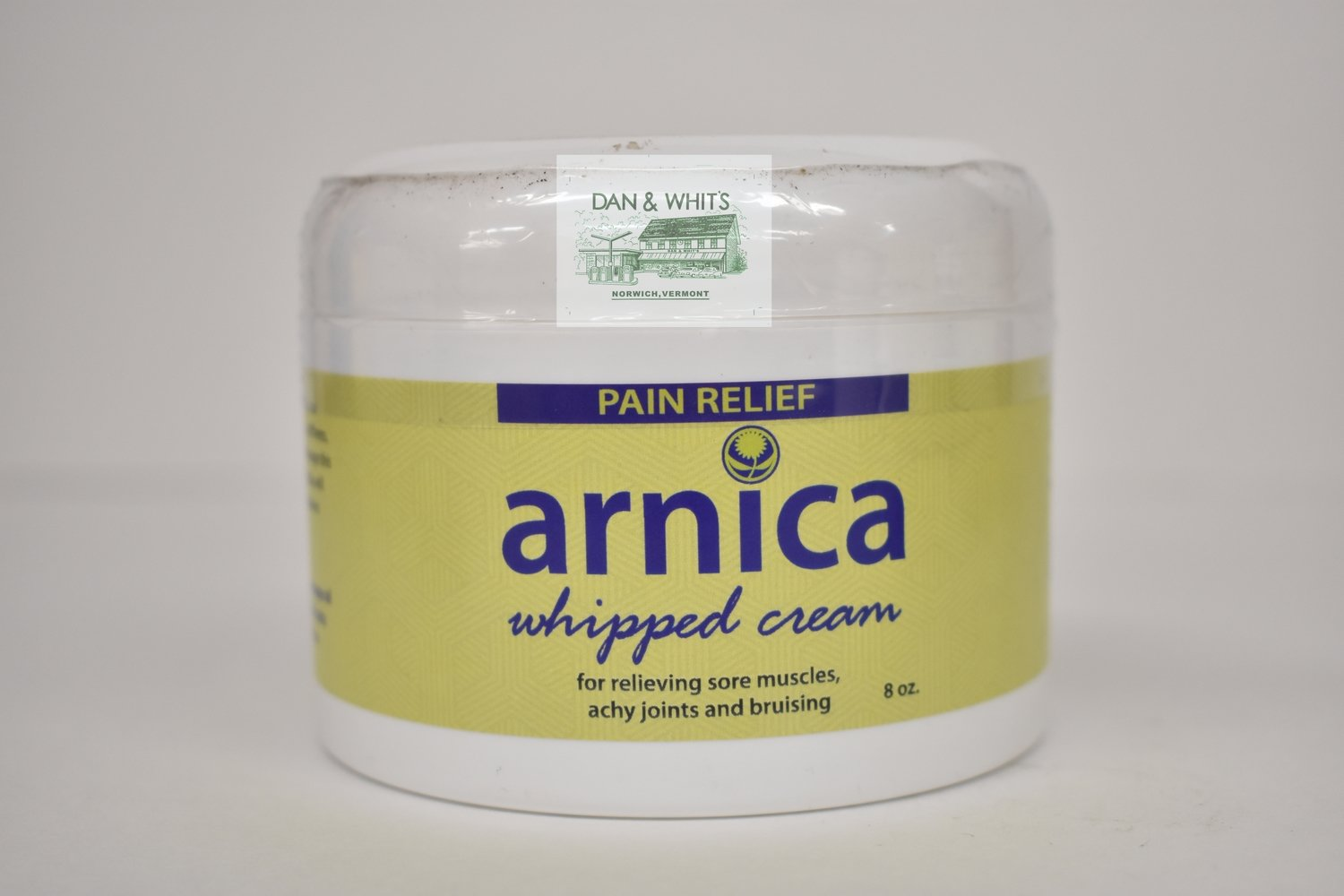 Arnica whipped cream for relieving sore muscles and achy joints 8z