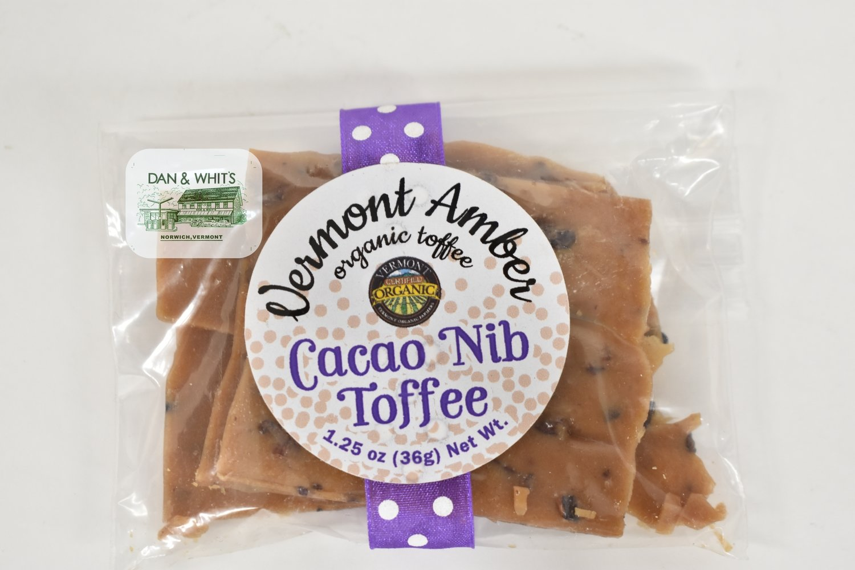 Vermont Amber Cocoa Nib Toffee