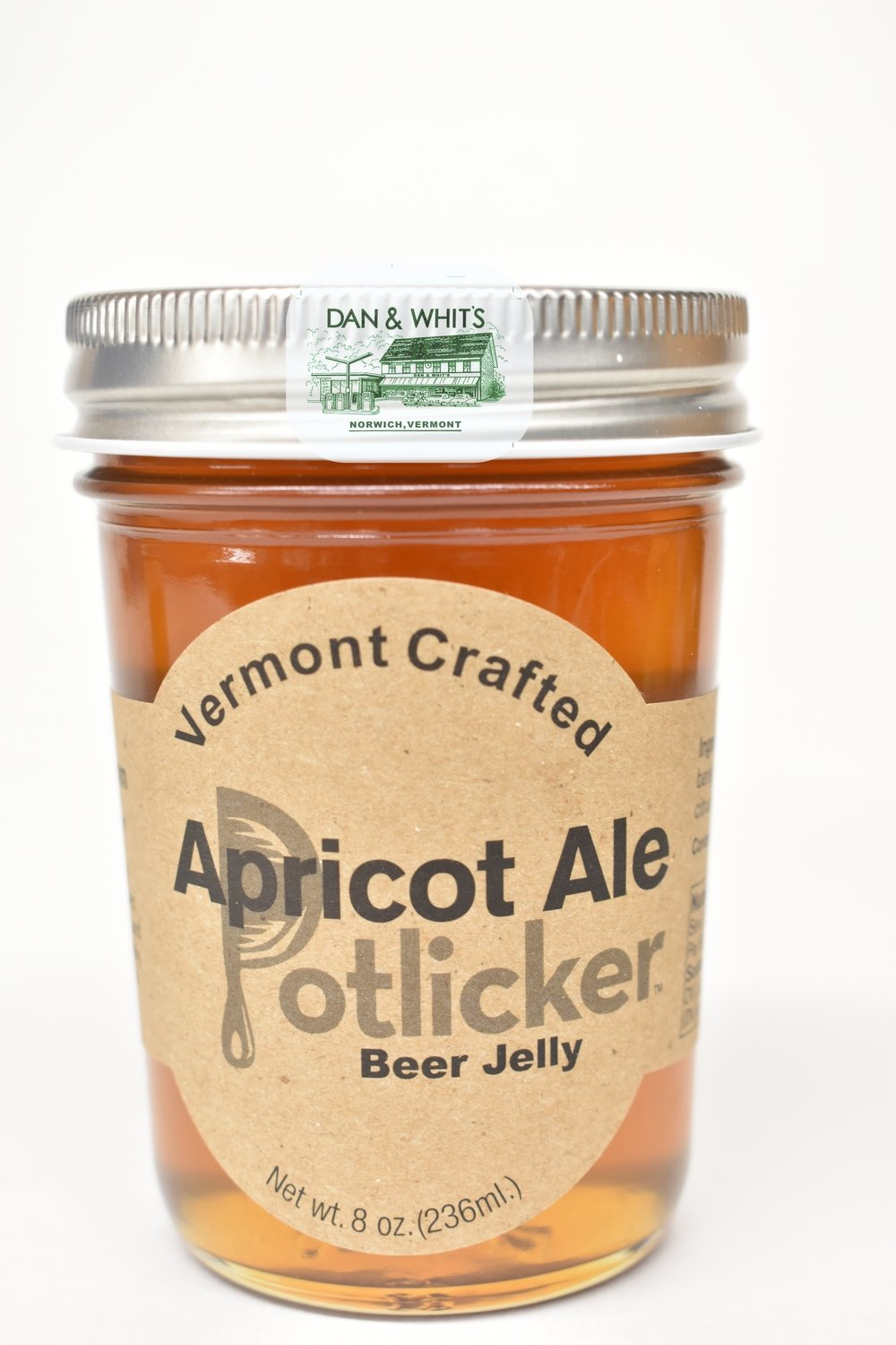 Vermont Crafted Apricot Ale Beer Jelly