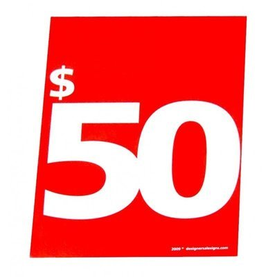 $50 D&W Gift Card