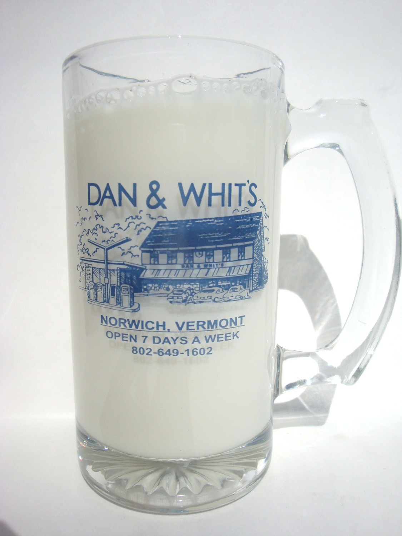 Dan & Whit's Glass Mug