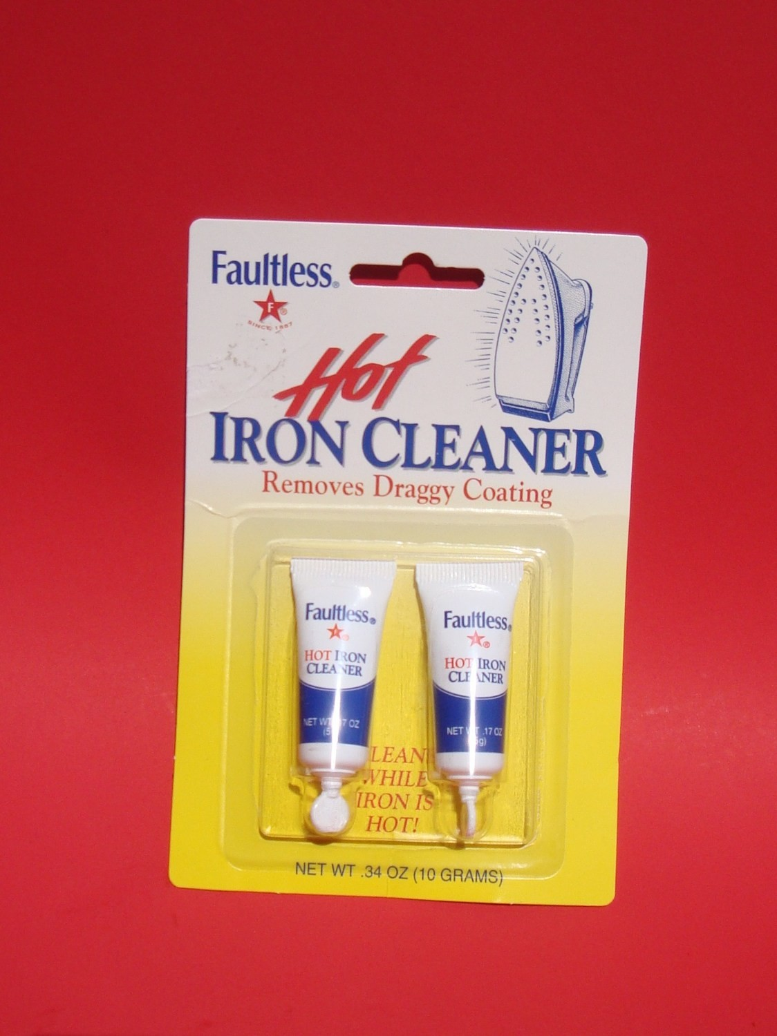 Hot Iron Cleaner