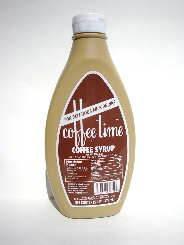 Coffee Time Coffee Syrup