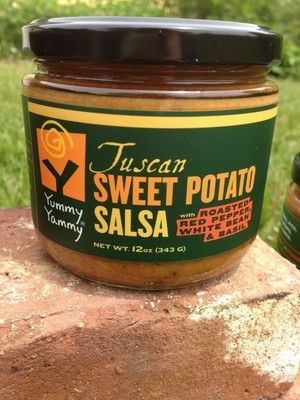 Yummy Yammy Tuscan Sweet Potato Salsa - 12 oz