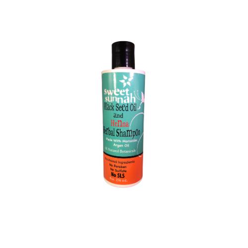 Black Seed Oil &Henna Herbal Shampoo - 236ml