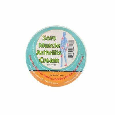 Sore Muscle Arthritis Cream - 140g