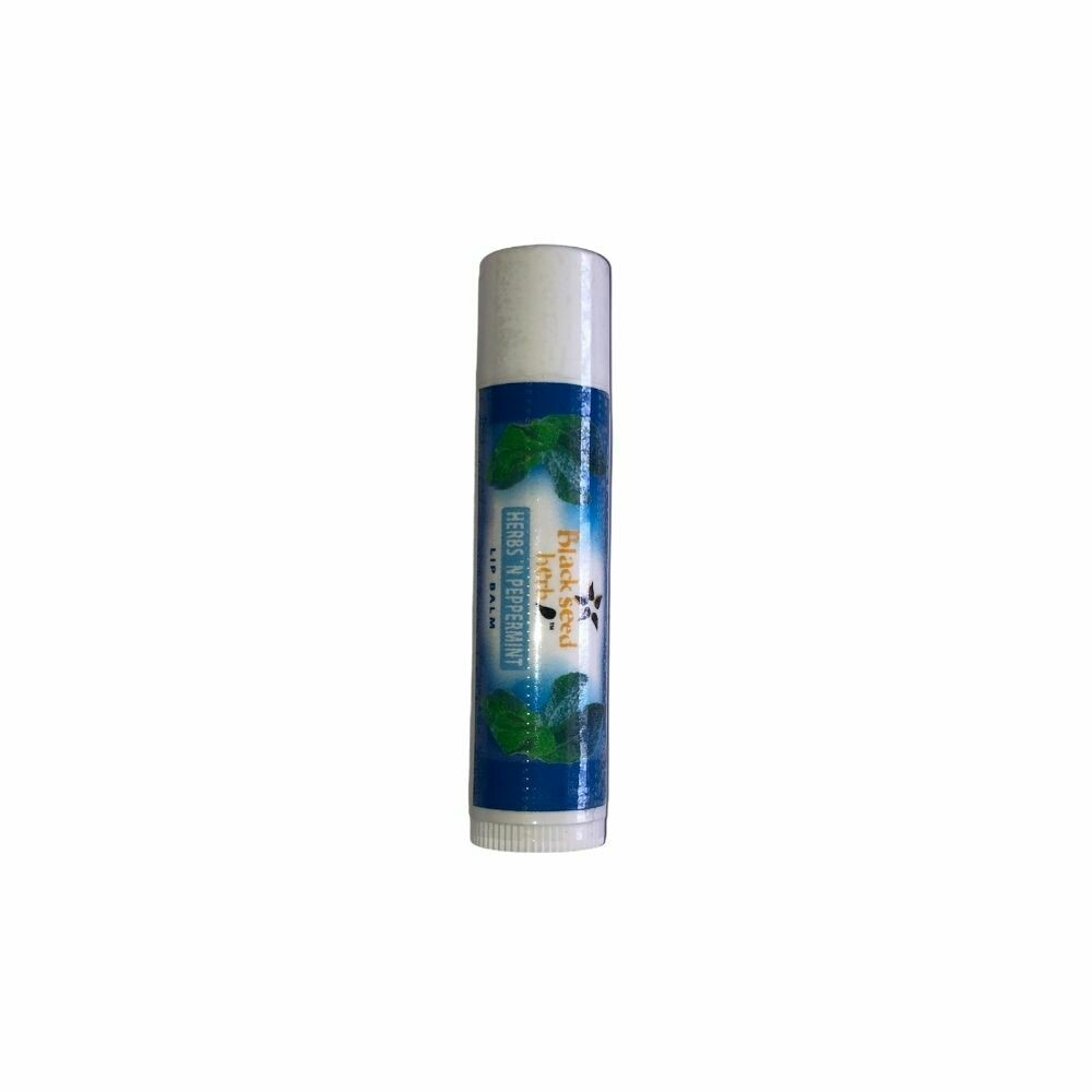 Natural Black Seed Herbal Mint Lip Balm
