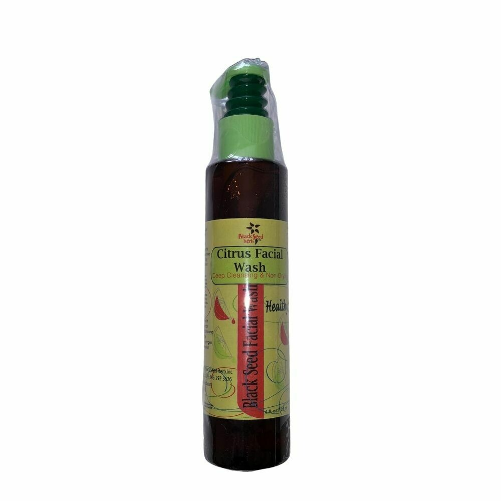 Natural Black Seed Citrus Facial Cleanser - 120ml