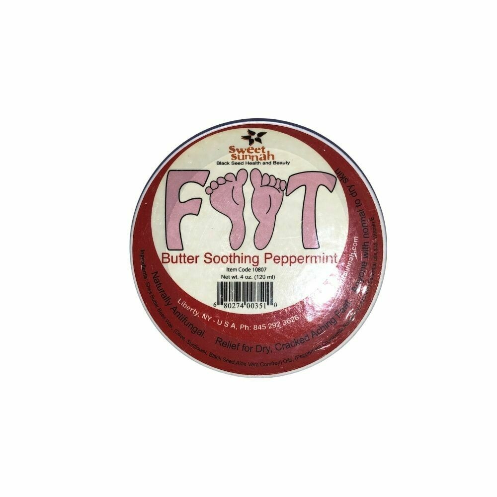 Foot Butter Soothing Peppermint - 120ml