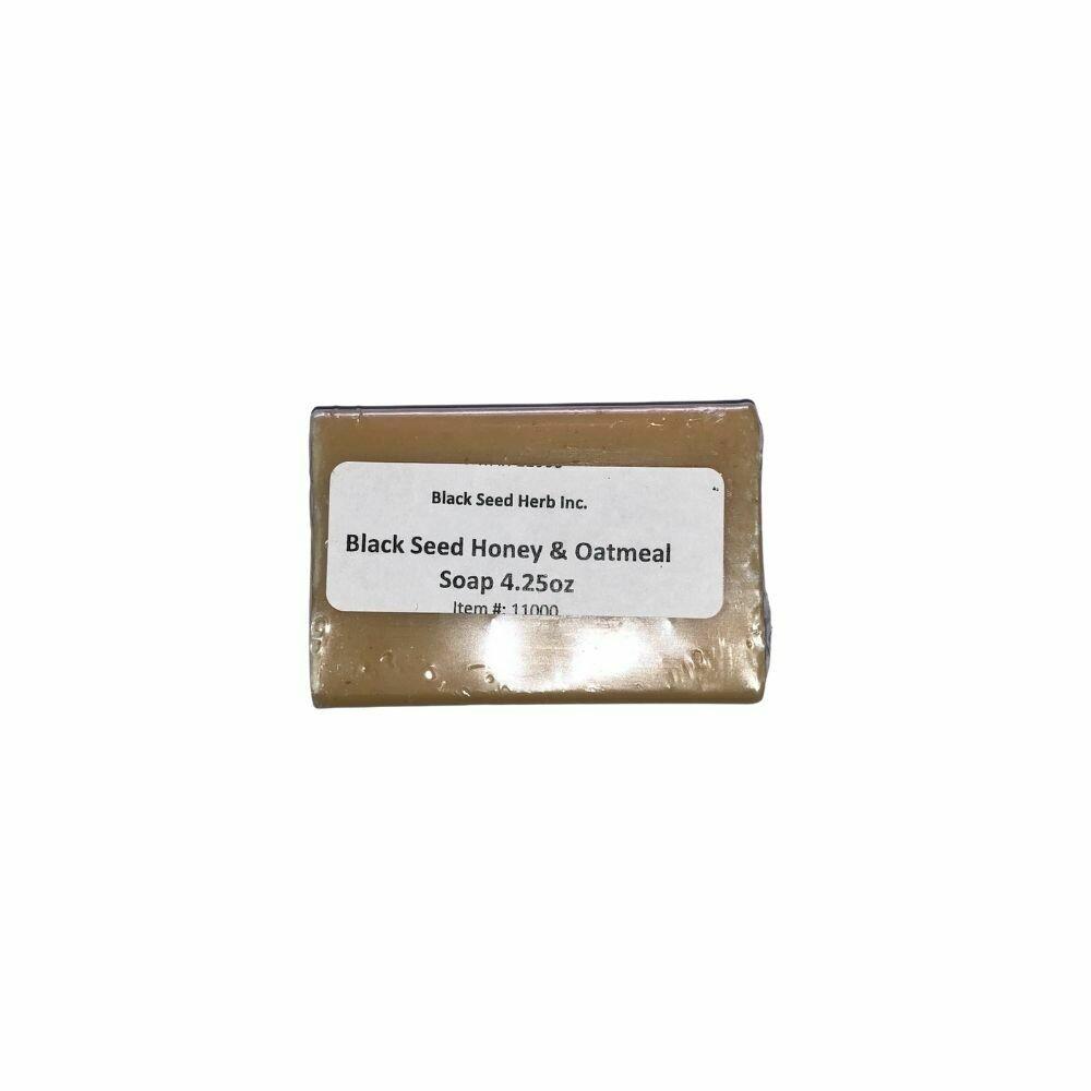 Black Seed Honey & Oatmeal Soap - 120g