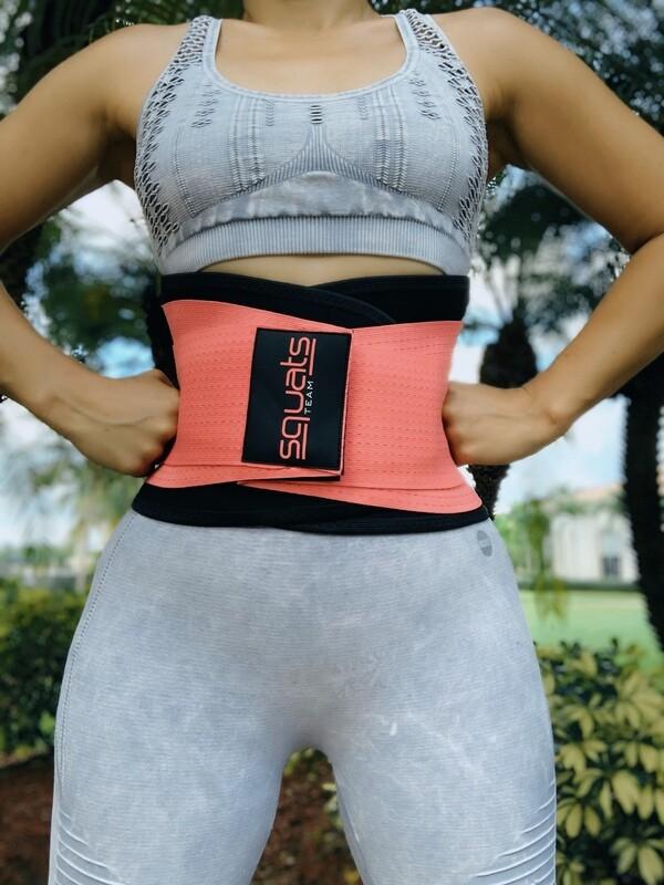 Squats Team Fitness Belt  (CORAL II)