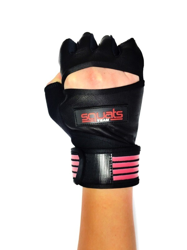 SQUATSTEAM Fitness Gloves (Coral)