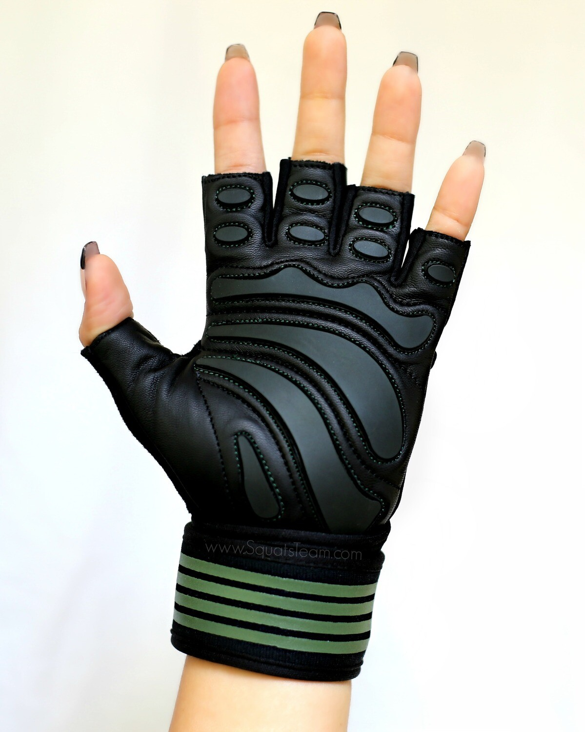 SQUATSTEAM Fitness Gloves (Olive)