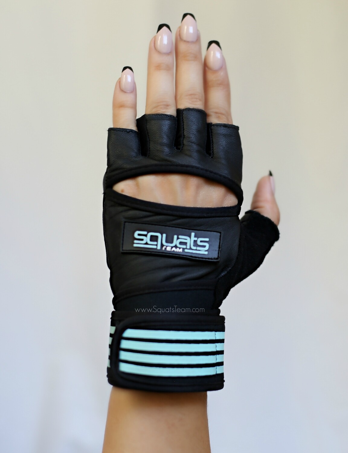 SQUATSTEAM Fitness Gloves (Mint)