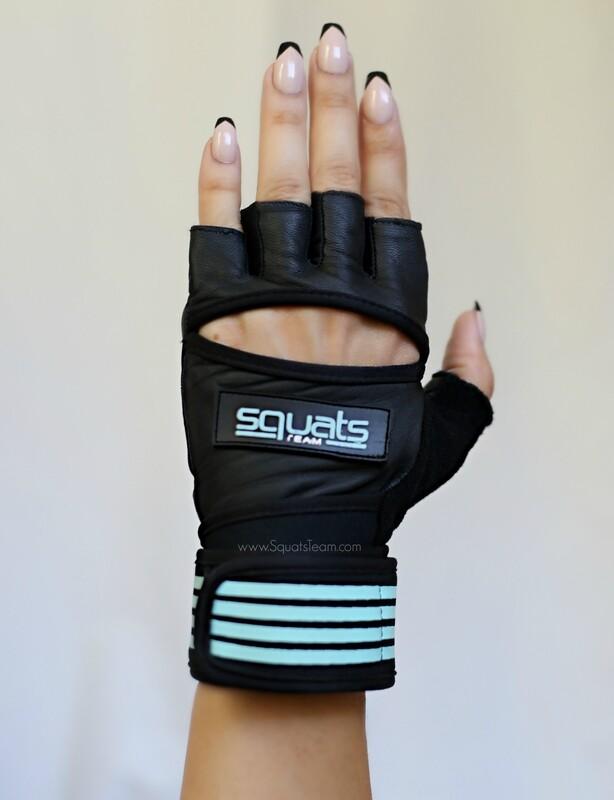 SQUATSTEAM Fitness Gloves (Mint)