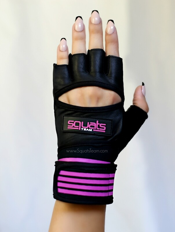 SQUATSTEAM Fitness Gloves (Purple)