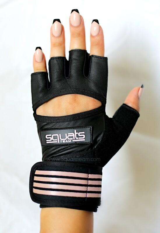 SQUATSTEAM Fitness Gloves (Rose)