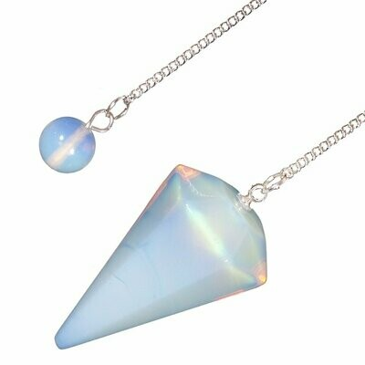 Opalite Crystal Pendulum