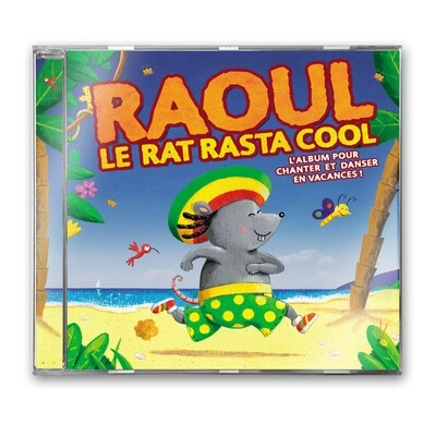 Raoul le rat rasta cool