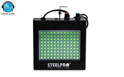 Strobo RGB 108 LEDS 5050 c/ Regulador de Velocidad SteelPro 108STR