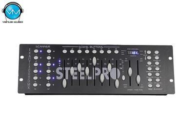 Controlador Iluminación 3000DMX SteelPro